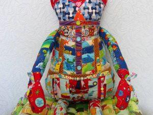 Развивающая игровая кукла Заен. Ярмарка Мастеров - ручная работа, handmade.