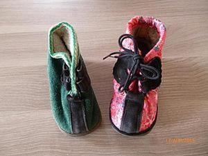 Сапожки для Золушки, или Чудесное превращение детских ботиночек. Ярмарка Мастеров - ручная работа, handmade.
