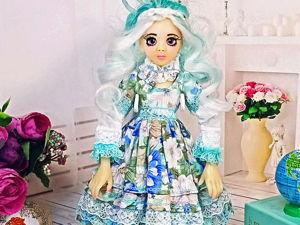 Кукла  «Снежинка». Ярмарка Мастеров - ручная работа, handmade.