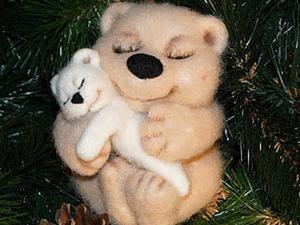 Мастер - класс: медвежонок «Нежность». Ярмарка Мастеров - ручная работа, handmade.