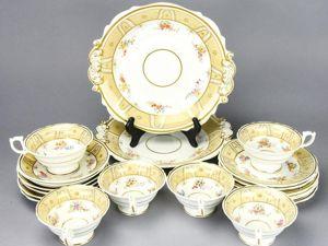 Десертный набор Риджуэй и Роби У. Риджуэй (и сын) Узор 525. Ярмарка Мастеров - ручная работа, handmade.