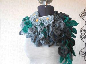 Распродажа шарфиков- колье !!! от 799 руб. Ярмарка Мастеров - ручная работа, handmade.