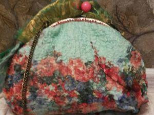 Валяная сумка. Ярмарка Мастеров - ручная работа, handmade.