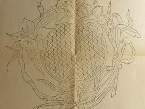 Старинные рисунки для глади и ришелье. Ярмарка Мастеров - ручная работа, handmade.