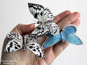 У меня поселились бабочки. Ярмарка Мастеров - ручная работа, handmade.
