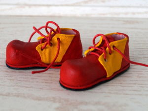 Как сделать клоунские ботинки для куклы. Часть 1. Ярмарка Мастеров - ручная работа, handmade.