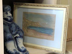 Старик и море. Ярмарка Мастеров - ручная работа, handmade.