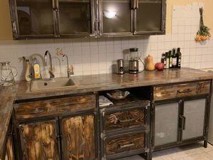 Кухня в стиле лофт. Ярмарка Мастеров - ручная работа, handmade.