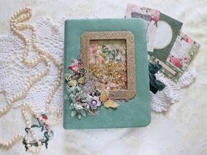 Обзор семейного/свадебного винтажного альбома. Ярмарка Мастеров - ручная работа, handmade.