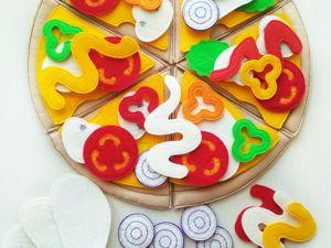 Как играть с пиццей?. Ярмарка Мастеров - ручная работа, handmade.