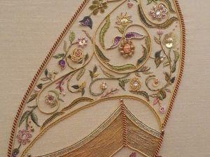 Золото и изящество в вышивке турецкой мастерицы Elizi. Ярмарка Мастеров - ручная работа, handmade.