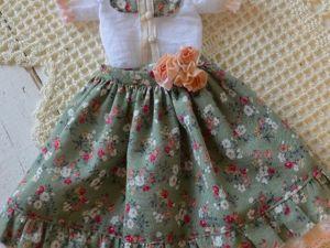 Шьем для куклы блузку со стойкой. Ярмарка Мастеров - ручная работа, handmade.