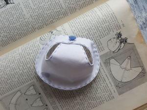 Шьём панаму для куклы в стиле ретро. Ярмарка Мастеров - ручная работа, handmade.