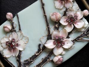 """Колье """"Сакура""""/ """"Sakura"""". Прьемьера и анонс). Ярмарка Мастеров - ручная работа, handmade."""