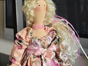 Как оформить буфами платье для Тильды. Ярмарка Мастеров - ручная работа, handmade.