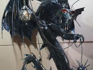 Дракон фонарь(ковка). Ярмарка Мастеров - ручная работа, handmade.