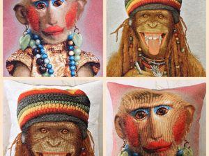 Креативные обезьянки. Ярмарка Мастеров - ручная работа, handmade.
