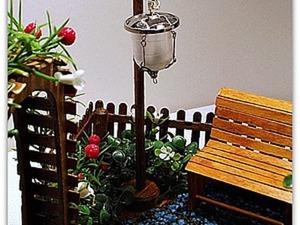 Создаем миниатюрный уличный фонарь. Ярмарка Мастеров - ручная работа, handmade.
