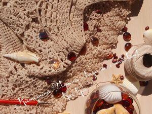 Ажурное платье крючком  «Мечты о море»  — продолжение. Ярмарка Мастеров - ручная работа, handmade.