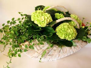 Аранжировка из цветущих растений в наличии. Ярмарка Мастеров - ручная работа, handmade.