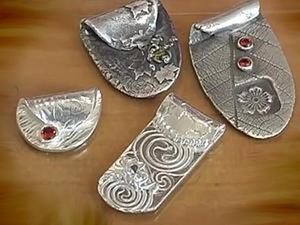 Мастер-класс по созданию кулона из серебряной глины. Ярмарка Мастеров - ручная работа, handmade.