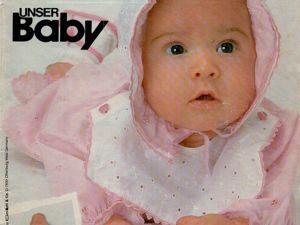 Burda Special Unser Baby 1985, E 807. Ярмарка Мастеров - ручная работа, handmade.