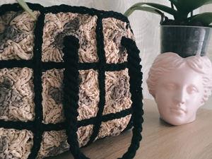 Сумка из рафии с чем носить. Ярмарка Мастеров - ручная работа, handmade.