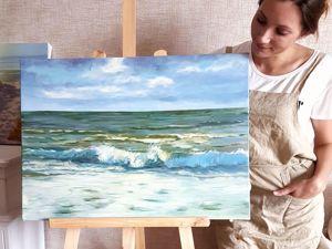 Весь февраль бесплатная доставка картин!. Ярмарка Мастеров - ручная работа, handmade.
