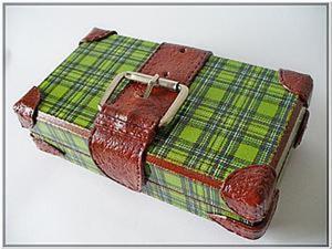 Делаем купюрницу в виде чемодана. Ярмарка Мастеров - ручная работа, handmade.