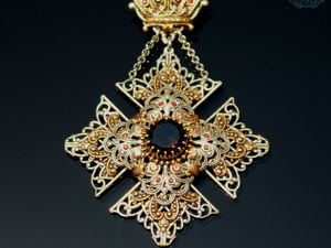 Мальтийский Крест дополнительные фото. Ярмарка Мастеров - ручная работа, handmade.