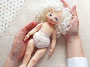 Создаем текстильную куклу. Часть 3. Ярмарка Мастеров - ручная работа, handmade.