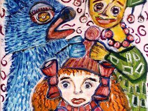 Видео к моей картине  «Скоморошина». Ярмарка Мастеров - ручная работа, handmade.