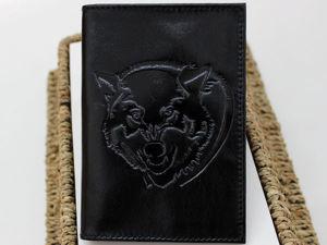Изготовление кожаной обложки на паспорт с нанесением тиснения. Ярмарка Мастеров - ручная работа, handmade.