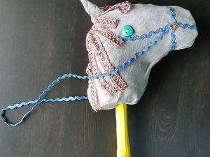 Мастерим дачную игрушку, или Лошадка из того, что под рукой. Ярмарка Мастеров - ручная работа, handmade.