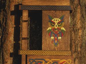 Удобное хранение мелочей в маленьком шкафчике_для ключей. Ярмарка Мастеров - ручная работа, handmade.