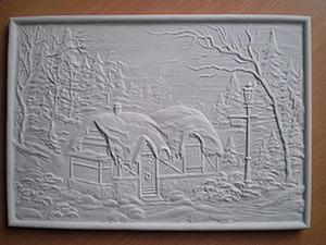 Раскрашиваем барельеф вместе с детьми. Ярмарка Мастеров - ручная работа, handmade.