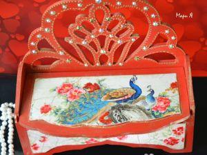 Шкатулка фен шуй для привлечения любви   «Двойное счастье». Ярмарка Мастеров - ручная работа, handmade.