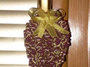 Изготовление елочной игрушки «Шишка». Ярмарка Мастеров - ручная работа, handmade.