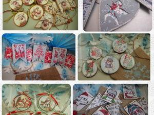 Продажи новогодних работ стартовали!. Ярмарка Мастеров - ручная работа, handmade.