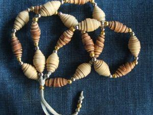 Делаем бусины из бересты своими руками. Ярмарка Мастеров - ручная работа, handmade.