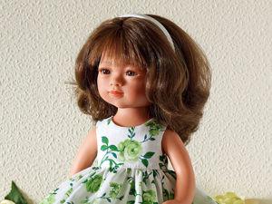 Мастер-класс: платье для куклы Мариетты Кармен Гонсалес. Ярмарка Мастеров - ручная работа, handmade.
