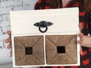 Простая идея из джута и картона: органайзер «Книпса» из IKEA. Ярмарка Мастеров - ручная работа, handmade.