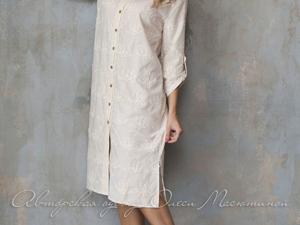 Аукцион на Очаровательное летнее платье-рубашку! Старт 3000 руб.!. Ярмарка Мастеров - ручная работа, handmade.