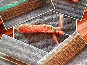 Два способа набора петель для резинки 1х1. Ярмарка Мастеров - ручная работа, handmade.