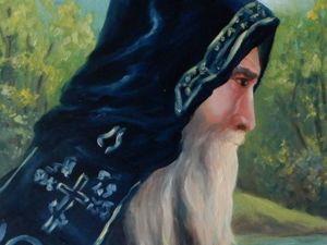 Новая работа картина Старец. Ярмарка Мастеров - ручная работа, handmade.