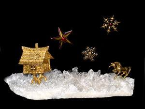 Зимняя сказка — немного волшебства в Новогоднюю ночь!!!. Ярмарка Мастеров - ручная работа, handmade.