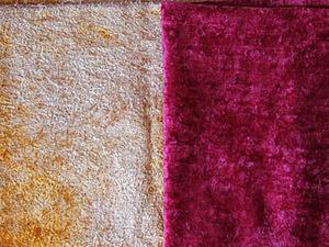 Простой способ изменить цвет бордового плюша. Ярмарка Мастеров - ручная работа, handmade.