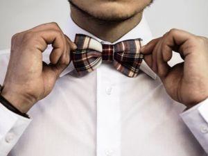 История галстука-бабочки. Ярмарка Мастеров - ручная работа, handmade.