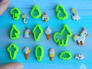 Лепим миниатюрные пряники из полимерной глины. Работа с каттерами. Ярмарка Мастеров - ручная работа, handmade.