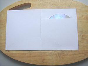 Заготовка-конверт для диска.. Ярмарка Мастеров - ручная работа, handmade.
